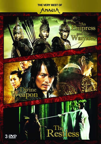 The Very Best of Amasia (Restless, Empress, Divine Weapon)